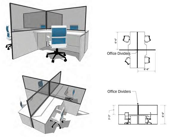 Customized Desk Dividers